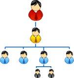 nätverk royaltyfri illustrationer