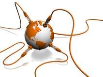 Nätverk Arkivfoto