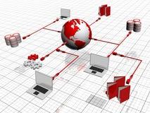 Nätverk Arkivbild
