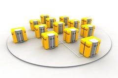 nätverk 8 Arkivbild