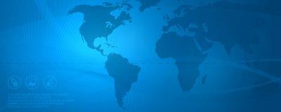 nätverk för 4 blue royaltyfri illustrationer