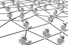 Nätverk kommunikation, socialt massmedia, internet…, stock illustrationer