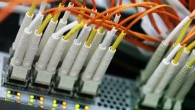 Nätverkskablar och nav lager videofilmer