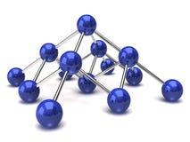 nätverksstruktur Royaltyfri Bild