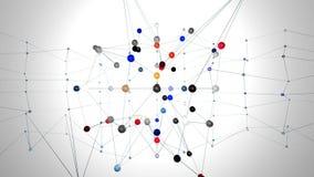 Nätverksstruktur lager videofilmer