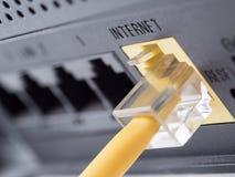 Nätverksutrustning royaltyfri bild