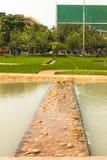 Någon del i den kungliga krematoriet för HM den sena konungen Bhumibol Adulyadej i Sanam Luang på November 04, 2017 Royaltyfri Fotografi