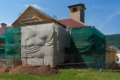 Någon gammal byggnad Royaltyfri Bild