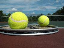 någon tennis Royaltyfri Bild