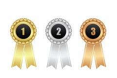 någon utmärkelse är kan formatet för upplösning för illustrationbildförlust skalapd det band till vektorn bronze guldsilver Royaltyfri Fotografi