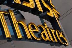 någonstans theatres Royaltyfri Bild