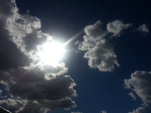 Något i himlen Royaltyfria Bilder