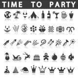 något som är, knappar på burk andra symboler party använd vektorrengöringsduk Arkivfoto