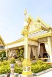 Något ställe i den kungliga krematoriet för konungen Bhumibol Adulyadej på November 04, 2017 Royaltyfria Foton