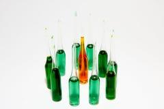 Ampuls cirklar in Royaltyfri Foto