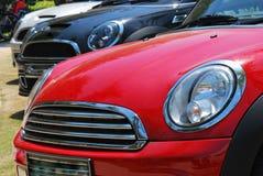 Några bilar Arkivfoto