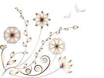några färger finns modellversionen för blommor fyra Royaltyfria Bilder