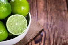 Några nya limefrukter Royaltyfri Bild