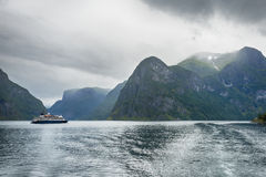 Nærøyfjord - UNESCO World Heritage - Norway Royalty Free Stock Image