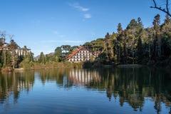 Nègre de Lago et x28 ; Lake& noir x29 ; - Gramado, Rio Grande do Sul, Brésil photos libres de droits
