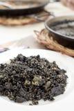 Nègre espagnol d'arroz ou Paella noire Photo libre de droits