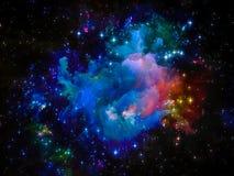 Nébuleuse cosmique Photos stock