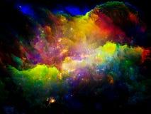Nébuleuse cosmique Image stock