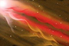 Nébuleuse cosmique de ruban image libre de droits