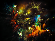 Nébuleuse d'étoile Images stock