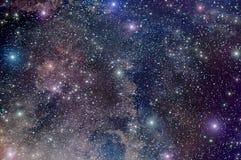 Nébuleuse d'étoile d'espace lointain d'univers Images libres de droits
