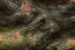 Nébuleuse d'étoile d'espace lointain d'univers Photographie stock libre de droits