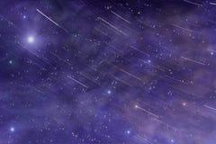 Nébuleuse d'étoile d'espace lointain d'univers Images stock