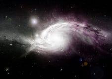 Nébuleuse d'étoiles, de poussière et de gaz dans une galaxie lointaine photo libre de droits