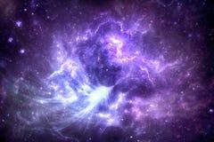 Nébuleuse d'espace lointain illustration de vecteur