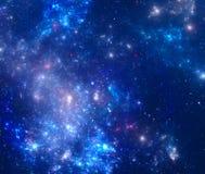 Nébuleuse d'espace lointain Image libre de droits