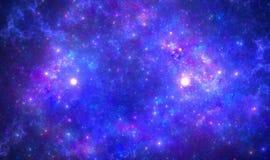 Nébuleuse d'espace lointain Photo libre de droits