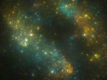 Nébuleuse d'espace lointain Photographie stock libre de droits