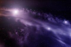 Nébuleuse dans l'espace lointain Photographie stock