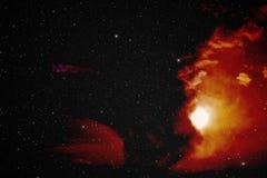 Nébuleuse dans l'espace lointain Image stock