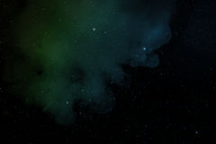 Nébuleuse et étoiles Photographie stock