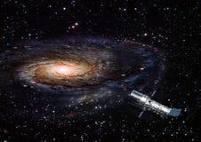 Nébuleuse et étoiles dans l'espace Images libres de droits