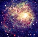 Nébuleuse impressionnante dans l'espace lointain Éléments de cette image meublés par la NASA image stock