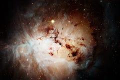 Nébuleuses et beaucoup d'étoiles dans l'espace extra-atmosphérique Éléments de cette image meublés par la NASA illustration de vecteur
