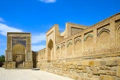 Nécropole musulmane antique à Boukhara, l'Ouzbékistan Photos stock