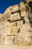 Nécropole Naqsh-e Rustam, Iran Photo stock