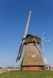 ` Néerlandais de Krimstermolen de ` de moulin à vent à Groningue Image libre de droits