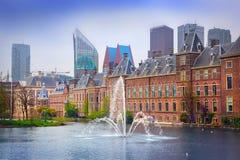 Néerlandais Parlament de palais de Binnenhof image libre de droits