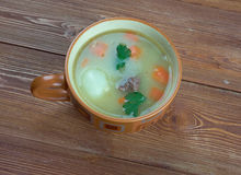 Néerlandais Pea Soup - Snert Images libres de droits