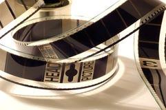 négatif sur film dans une boîte Photographie stock libre de droits