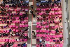Négligence de la base du sud de la Chine de ville courante d'échange-Nan-Tchang Photos libres de droits